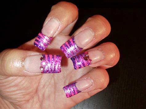 Acrylic Nail glitter nail designs acrylic nail designs