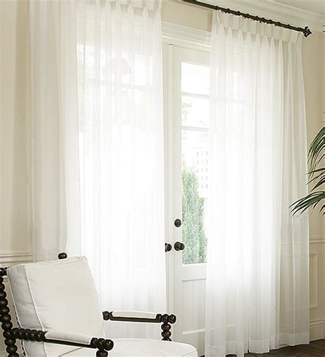 pleated voile curtains pleated voile drapery hudson window sheers sheer curtains