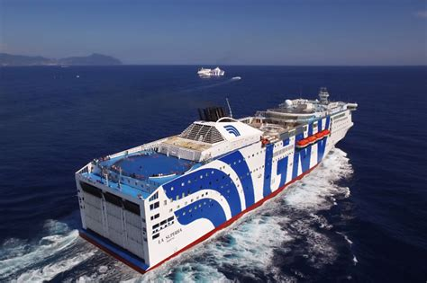 la suprema grandi navi veloci gnv fleet ferries and cruise ships