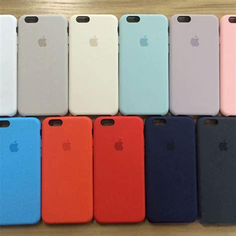 authentic oem multicolor silicone case cover  apple