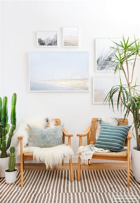 Beachy Dining Room Tables amber interiors x framebridge amber interiors bloglovin