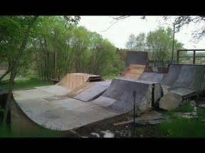 Backyard Skatepark Ideas My Backyard Skatepark 2012 Youtube