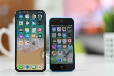 iphone x s size compared against other iphones techusiast