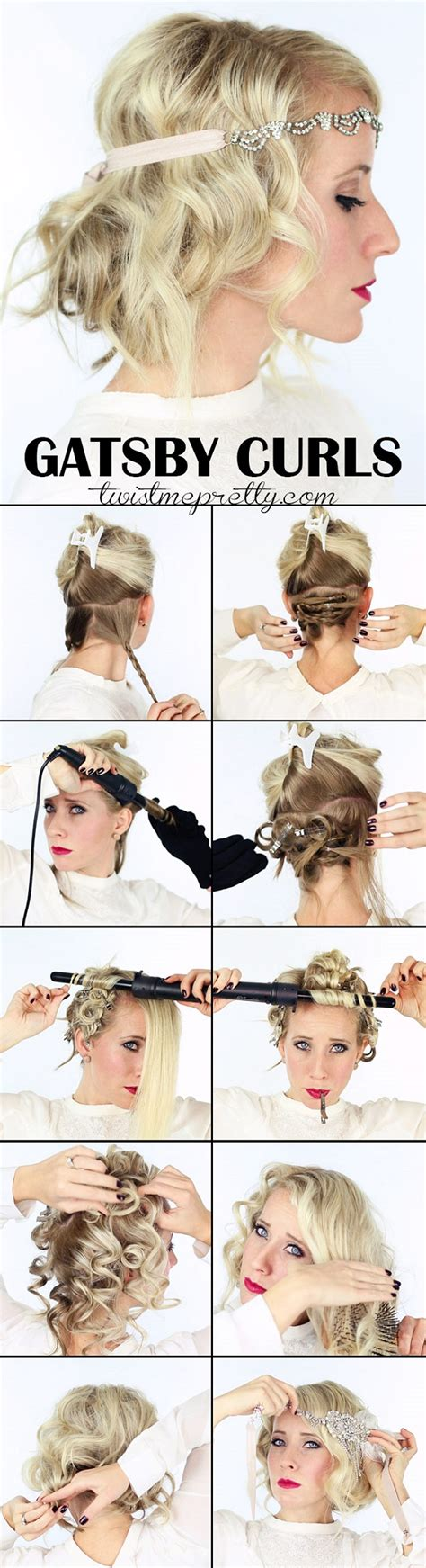 do it yourself hairstyles gatsby you tube the great gatsby inspired hairstyle tutorial alldaychic