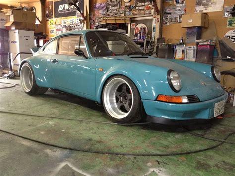 vintage porsche blue rwb long hood porsche 911 baby blue exotics