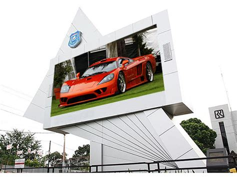 Led Outdoor Display outdoor fixed advertising led display screen solutions