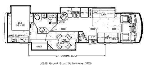 newmar floor plans 2008 37 newmar grand star 3750 class a diesel motorhome