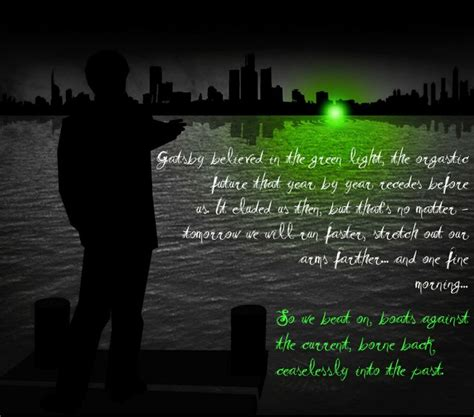 the great gatsby themes hope the green light of hope in the great gatsby green light