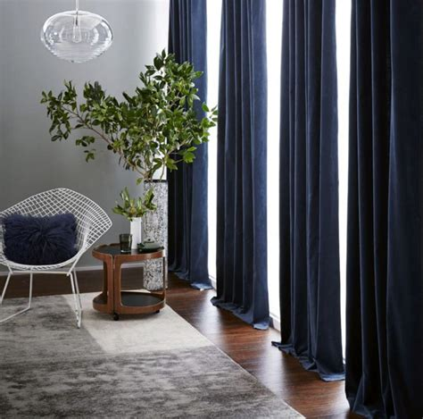 Curtain For Living Room Inred Med Sammetsdetaljer Tips Elle Decoration