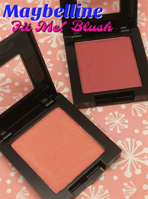 Blush On Maybelline Fit Me maybelline and berry fit me blush pics review and