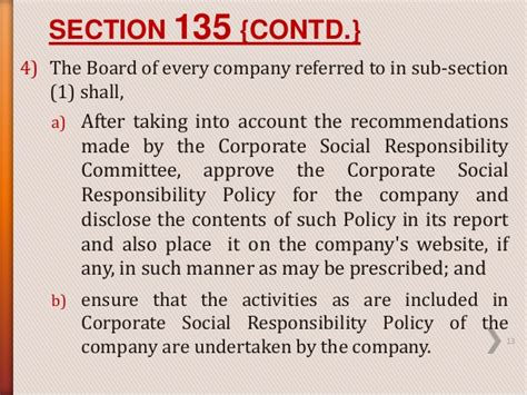 section 135 csr csr as defined in section 135 of the companies act
