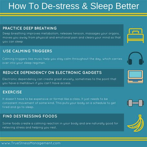 How To Be A Better Sleeper by Stress And Sleep True Stress Management