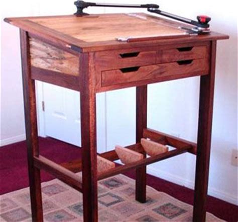 Stand Up Drafting Table Custom Stand Up Desk And Drafting Table By Woodworks By Custommade