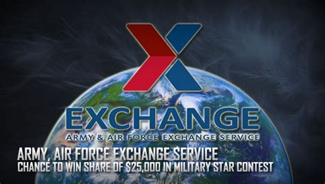 Shopmyexchange Com Sweepstakes - exchange shoppers can win a share of 25 000 with military star contest gt cannon air