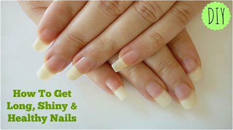 where to get nail how to get shiny healthy nails at home