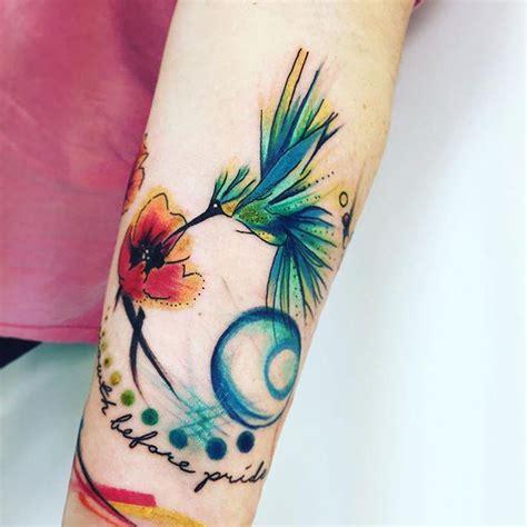 65 tatuagens de beija flor delicadas e criativas