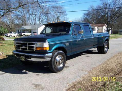 how it works cars 1999 ford f350 windshield wipe control purchase used 1996 ford f350 7 3 diesel crew cab in hixson tennessee united states