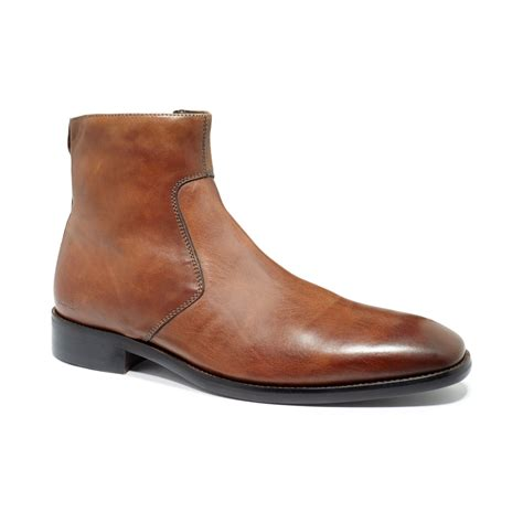 kenneth cole brown shoes kenneth cole color scheme boots in brown for lyst