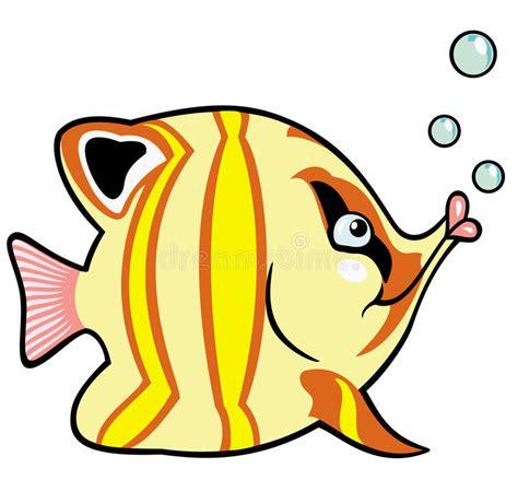 pesci clipart pesci dell acquario fumetto illustrazione vettoriale
