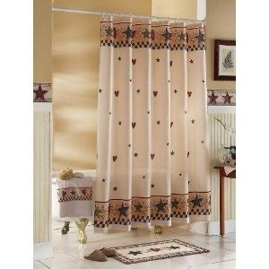 country bath shower curtain primitive shower curtains country shower curtains and