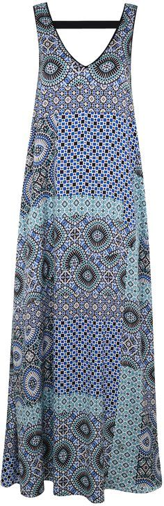 60s Spiro Printed Maxi Dress In Blue And Purple by 1000 Images About Boho Chic For 30 40 50