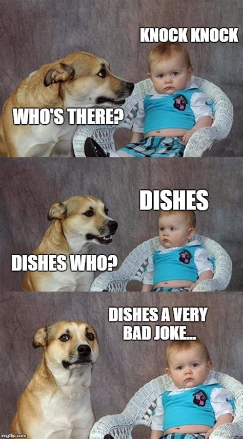very bad jokes dad joke dog meme imgflip