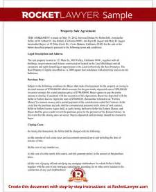 real estate purchase agreement form free templates with