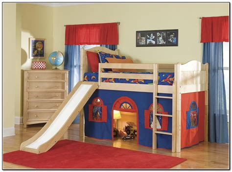 toddler slide bed cool kids beds with slide www pixshark com images