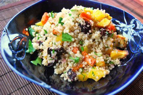 vegetables quinoa roasted vegetable quinoa salad recipe dishmaps
