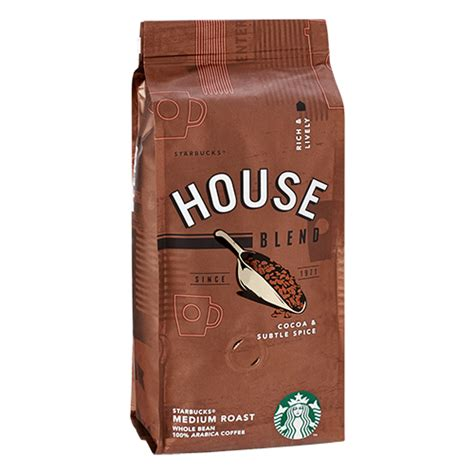starbucks house blend starbucks coffee house blend coffee beans 250g delico coffee online