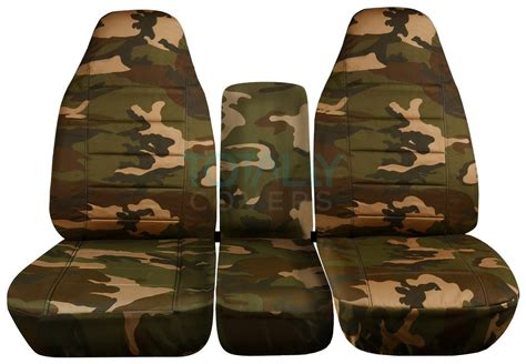 1994 ford ranger camo seat covers 1993 1998 ford f series f 150 250 350 40 20 40 camo truck