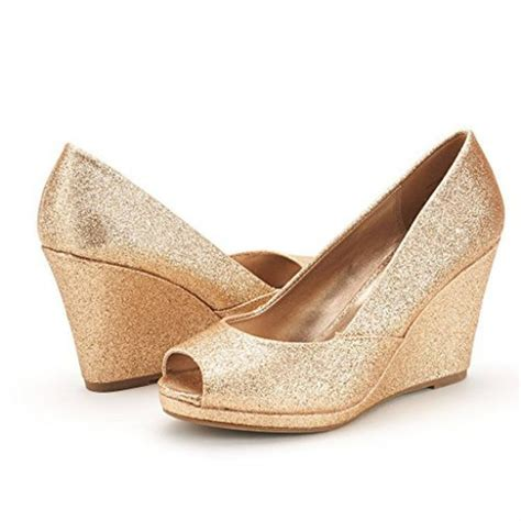 Gold Wedge Wedding Shoes by Wedding Wedges You Can Actually Walk In With Lace Ivory
