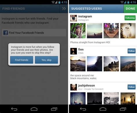 android instagram how to use instagram on android