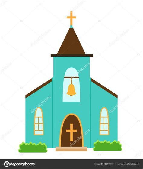 Imagenes Animadas De Iglesias   icono iglesia aislado sobre fondo blanco vector de stock