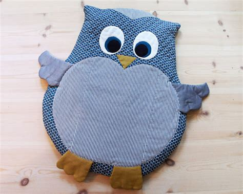 Mat Sewing Pattern by Owl Baby Mat Play Mat Floor Cushion Diy Tutorial Pdf