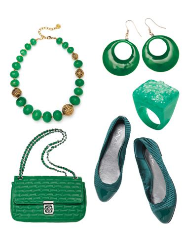 10 Green Accessories by Green Accessories And How To Wear Green