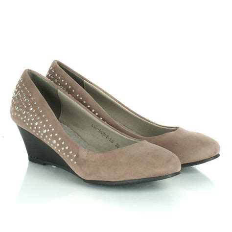 daniel taupe ripped women s wedge shoe