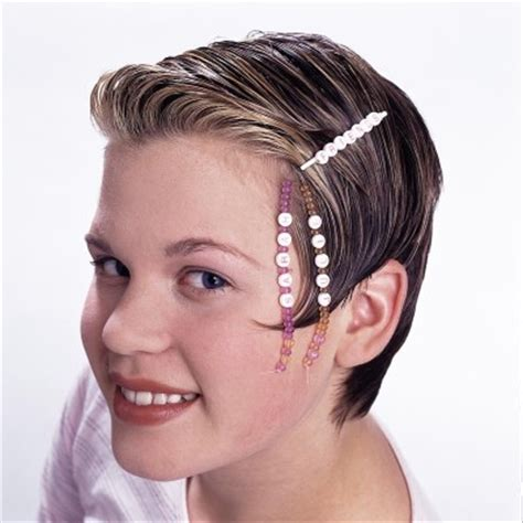 medium hair styles with barettes friends forever barrette howstuffworks