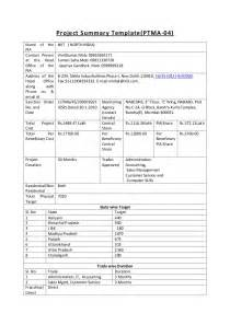 project cost summary template project summary template 1 to 7 1