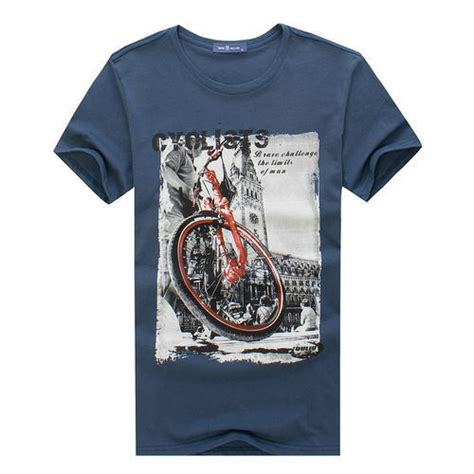 Printed T Shirt For by Cotton Printed Mens T Shirt Size S M L Rs 250 Id 13555581988