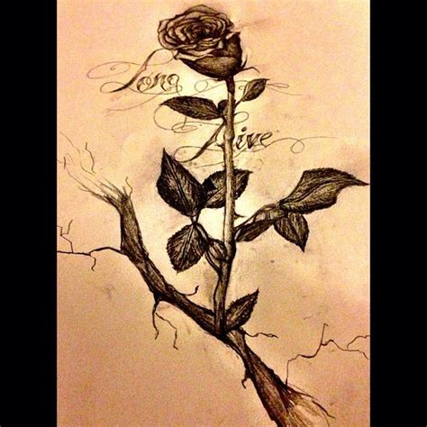 finally finished it long live the rose that grew from