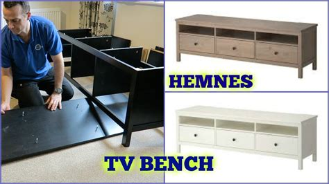 youtube bench ikea hemnes tv bench assembly youtube