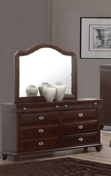 dark wood dresser mirror tango dark brown wood dresser and mirror the classy home