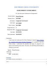 Southern Mba Accounting by Accounting Acc00724 Mba Southern Cross Cus Page 1