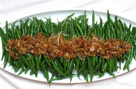 best ever green bean thanksgiving recipe green beans with caramelized onions recipe popsugar food