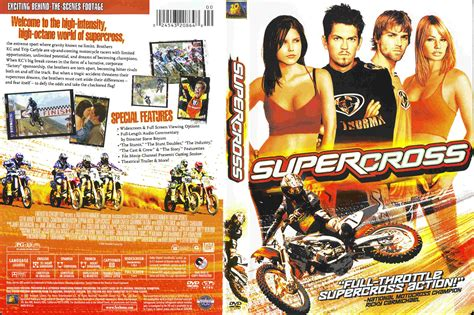 motocross movie covers box sk supercross 2005 high quality dvd