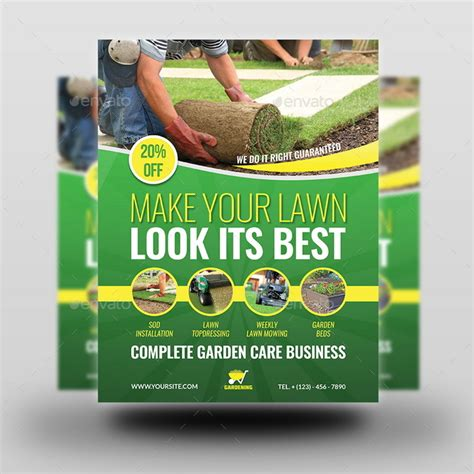 flyer templates gardening garden services flyer template vol 4 by owpictures