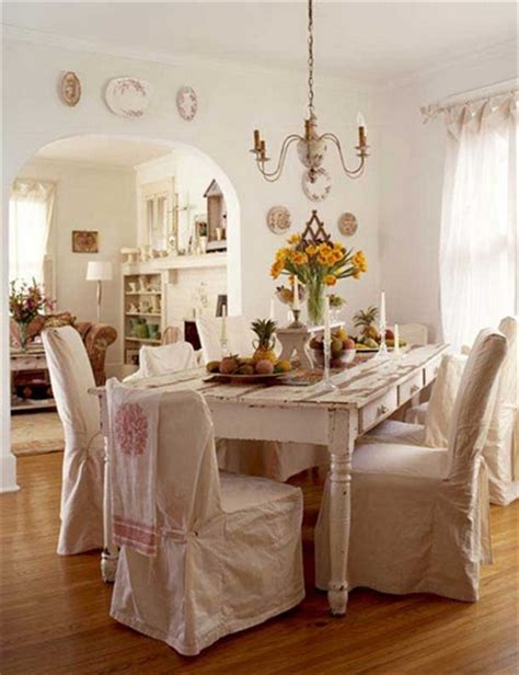 shabby chic dining room chairs dining room chair slipcovers offers fresh look to your