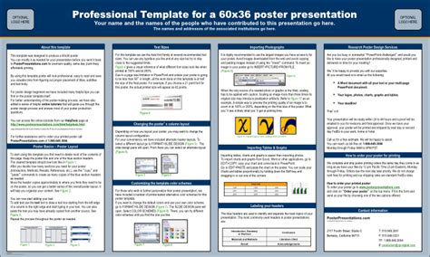 scientific poster presentation template galter health sciences library learning center help