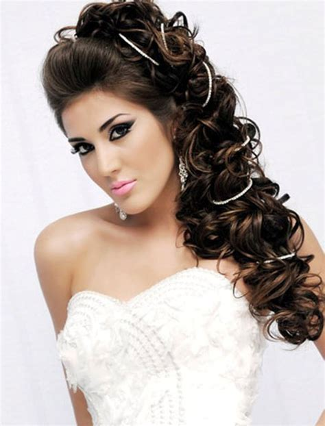hair styles for a wedding for a 12 year olds long wedding hairstyle to the side with curlswedwebtalks